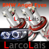 Wholesale 20 OFF X W H8 Angel Eyes Halo Ring LED Light Bulb Lamp for BMW E92 E93 X5 X6 E63 E70 E71 E82 E87