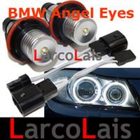 Wholesale 20 OFF X W Angel Eyes Halo Ring LED Lights Bulbs For BMW BMVV E39 E60 E61 E61 E63 E87 E53 X3 X5