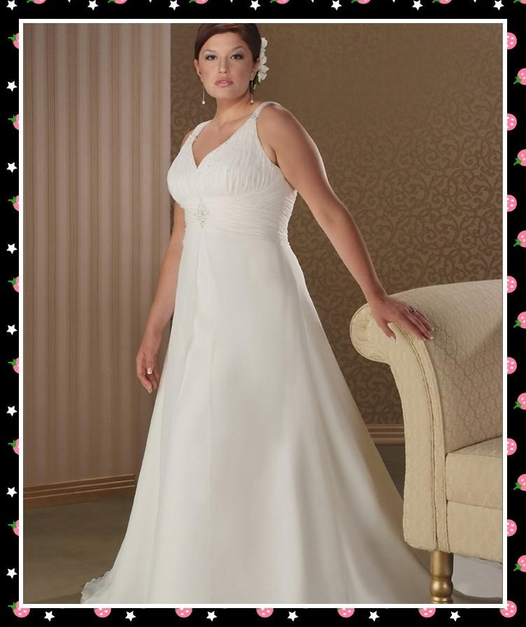 Plus size cheap ivory wedding dresses for Cheap ivory wedding dresses