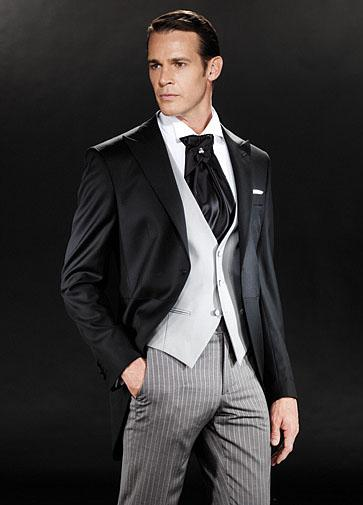 Top Quality Groom Tuxedos Best Men's Wedding Dress Prom Clothing ...