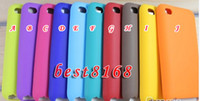 Wholesale Soft chocolate bean case gel silicon silicone skin Cases For apple ipod touch G th