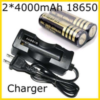 Wholesale Brand New Ultrafire X V mAh Rechargeable Battery single wired Charger US or EU plug