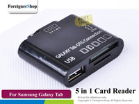 Wholesale For Samsung Galaxy Tab P7300 P7310 P7500 P7510 in Usb Otg Connection Card Reader pc