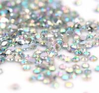 Wholesale 10000pcs mm Iridescent Crystal Rhinestones Nail Art