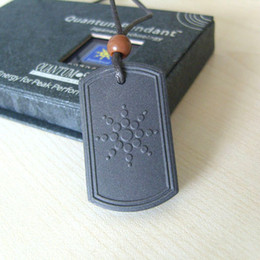 Wholesale MOQ Quantum Scalar Energy Pendant Square Design ions Power