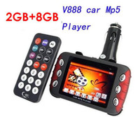 red   10GB Huge memory Car mp3 player,car Mp4 player,CAR MP5 PLAYER!