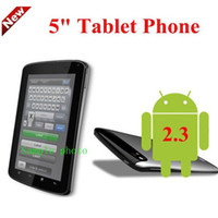 Wholesale 5 Capacitive Cell Phone E8 Android GPS WIFI TV DUAL SIM GIFT TABLET PHONE Leather Case