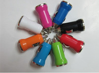 Wholesale New Mini Universal USB Car Charger Adapter for PDA Cell Phone Mp3 MP4