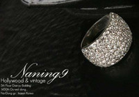 Wholesale Unique rings fully jewelled ring fashion jewelry best hot sale