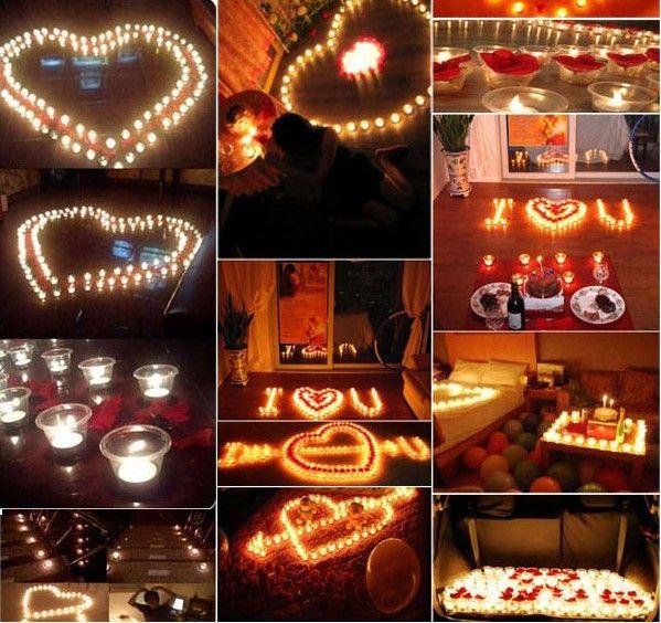 Compre velas de cera de velas creativas velas de for Cuarto adornado para cumpleanos