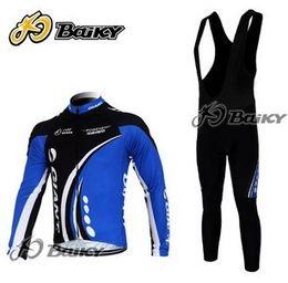 WINTER FLEECE THERMAL CYCLING LONG JERSEY + BIB PANTS 2012 GIANT BLACK BLUE-PICK SIZE:XS-4XL GA76