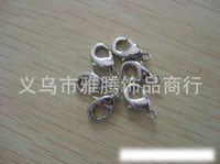 Wholesale Lobster claw clasp jewelry accessories buckle button