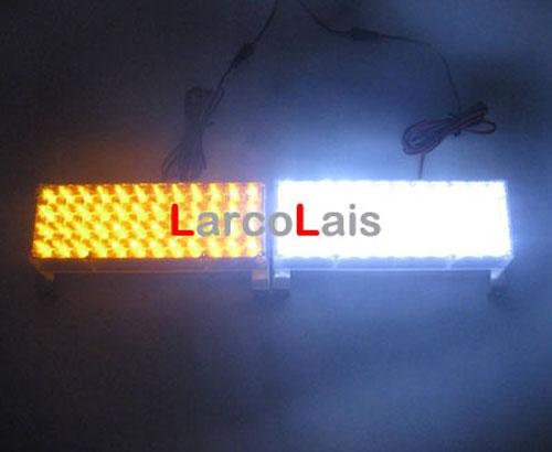Mbar blanco 2x48 led luces estrobosc picas bombero - Luces emergencia led ...