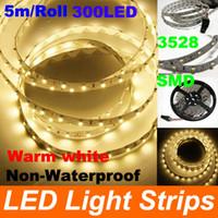 Wholesale 25m SMD Flexible LED Strip Light LED Non Waterproof No Power adapte LED Strip Lighting led m