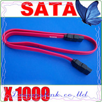 Serial Cable ata serial cable - 1000pcs New Serial SATA ATA Raid Data HDD Hard Drive Cable Sata HDD Cable