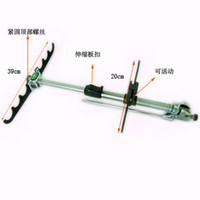 Wholesale Portable Retractable Multi function Magnesium alloy Fishing Rod Pole Holder QT0001