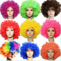 Wholesale 2012 Best selling Halloween hair explosive hair colored hair Masquerade props
