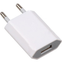 Wholesale Premium USB Travel Wall Charger Adapter EU Plug f iPhone G G GS G iPod Models USB Powered Device