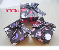 Ring Jewelry Boxes  Jewelry Boxes My Jewellery Boxes For Earrings,Rings,Necklace Jewelry Gift Box 5CM*5CM*3CM Mixed