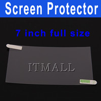 Wholesale 7 inch Screen Protector Full size inch Screen Protector for Via8650 inch informt x220 Led Screen