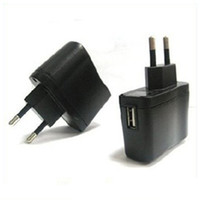 Wholesale EU Plug adapter USB adapter AC Wall Charger Adapter plug adapter european travel plu