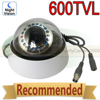 CCD Indoor 18 LED 1 3'' Sony CCD Chipset 600TVL High Resolution 20m IR Range Dome Camera