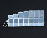 Wholesale 60pcs Days Pill Box Medicine Box Holders Dispenser Box
