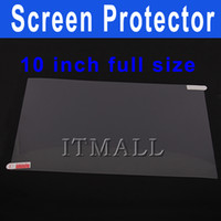 Wholesale 10 inch Tablet Screen Protector for Zenithink Zpad Apad Epad Flytouch Superpad