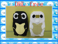Yes Silicone For Samsung cute doll silicone cellphone protective cover tortoise case for i9100 50pcs