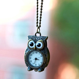Sacred Owl Necklace Pocket Watch POCKET WATCHES NECKLACE Women's Accessories