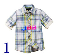 Wholesale JBB NEW ARRIVED TOMMY boy s shirt short sleeve colours calphen