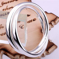 Wholesale TOP quality best fashion silver charm Beautiful Noble big cross circle bangle bracelet jewelry