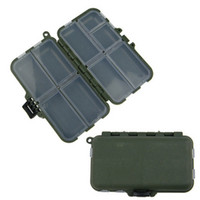 Wholesale Compact Compartments Plastic Fishing Tackle Box Portable Fishing Tackle Case