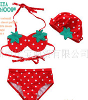 Wholesale 3 piece Baby Girl swimming suit Girls beachwear suit Baby swimwear girls swimsuit ls zsz