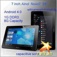 Wholesale Android tablet pc inch Ainol Novo7 Paladin GHz MB GB capacitive screen G sensor Wifi G