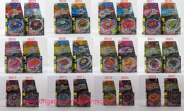 Wholesale Mixed styles Rapidity Super Top Clash Metal Beyblade Without Launcher Spinning Tops Toys
