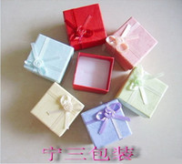 Wholesale Jewelry boxes the cheap jewellery gift boxes for rings my jewelry box colors mixed cm