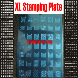 336 Designs Nail Stamp XL Stamping Plate Image Plate Nail Art Big Print Stencil Print Template DIY