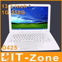 Wholesale inch notebook laptops Atom D425 GHZ Dual Core G DDR2 G SSD