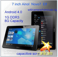 Wholesale Cheapest New First Android Inch Capacitive Screen GB Tablet PC epad Ainol NOVO7 Paladin