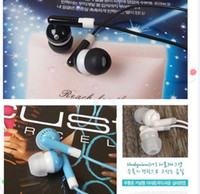 Wholesale In Ear Headphones Headphones colorful MP3 MP4 earphone Computer headset for Mp3 MP4 MP5
