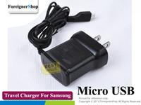 OEM Para el cargador micro del adaptador de la pared del recorrido del USB de la nota de la galaxia S2 I9100 de Samsung US ETA0U10JBS 100 PC