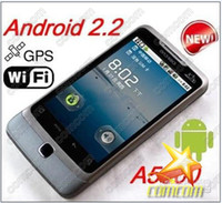 Wholesale Cheapest A5000 Android smartphone Wifi TV inch Screen quad band Dual SIM Mobile Phone