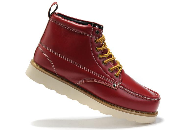 Red Boots Mens - Boot End
