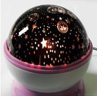 Rotary USB Projector Night Light Kids Children Lamp Christma...