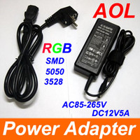 Wholesale Light Strip for use RGB SMD V AC DC W V A single output switching power supply