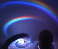 20pieces lot New style Rainbow LED Projectors Night Light La...