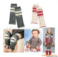 Wholesale COMBI Children s Socks Leggings Tights Baby Knee Leg Warmer Socks Cotton Legging TZ462