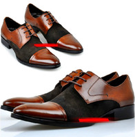 Wholesale Latest style Good Quality cowhide business men s shoes fashionable leather shoes pair