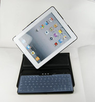 Wholesale Bluetooth Wireless Keyboard Degree Rotating Case for iPad ipad2 Tablet PC Stand